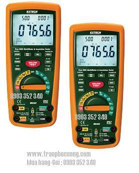 Máy đo điện trở, Máy đo điện cách MG302 - 13 Function Wireless True RMS MultiMeter/Insulation Tester chính hãng Extech USA | Đặt hàng