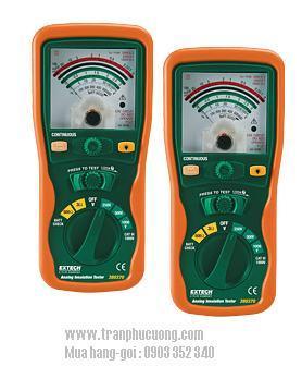 Máy đo điện trở, Máy đo điện cách 380320 Analog Insulation Tester chính hãng Extech USA | Đặt hàng