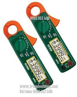 Ampe kìm, Ampe kế đo dòng điện xoay chiều AC/DC 30A / 380942 - 30A True RMS AC/DC Mini Clamp Meter (HSX: EXTECH-USA)