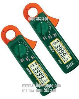 Ampe kìm, Ampe kế đo dòng điện xoay chiều AC/DC 400A/ 380947- 400A True RMS AC/DC Mini Clamp Meter (HSX: EXTECH-USA)