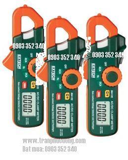 Ampe kìm, Ampe kế đo dòng điện xoay chiều AC/DC 200A/ MA120-200A AC/DC Mini Clamp Meter+Voltage Detector (HSX: EXTECH-USA)