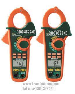 Ampe kìm, Ampe kế đo dòng điện xoay chiều AC/DC 400A/ EX613-400A Dual Input AC/DC Clamp Meter + NCV (HSX: EXTECH-USA)
