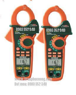 Ampe kìm, Ampe kế đo dòng điện xoay chiều AC/DC 400A/ EX623-400A Dual Input AC/DC Clamp Meter + NCV + IR Thermometer