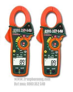 Ampe kìm, Ampe kế đo dòng điện xoay chiều AC/DC 1000A/ EX830-1000A True RMS AC/DC Clamp Meter with IR Thermometer