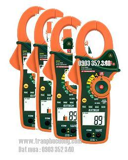 Ampe kế do dòng điện AC/DC 1000A/ EX840-1000A AC/DC True RMS Clamp/DMM + IR Thermometer (HSX; EXTECH-USA)