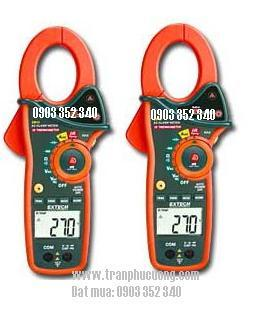 Ampe kìm, Ampe kế đo dòng điện 1 chiều AC 1000A/ EX810-1000A AC Clamp Meter with IR Thermometer (HSX: EXTECH-USA)
