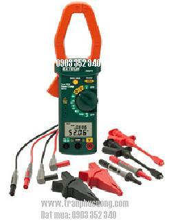 Ampe kìm, Ampe kế đo dòng điện 1 chiều AC 1000A / 380976-Single Phase/Three Phase 1000A AC Power Clamp Meter Kit