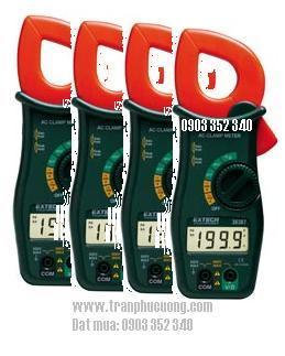 Ampe kìm, Ampe kế đo dòng điện 1 chiều AC 600A/ 38387-600A AC Clamp + MultiMeter (HSX: EXTECH-USA)