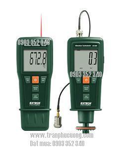Máy đo gia tốc, máy hoạt nghiệm 461880 - Vibration Meter + Laser/Contact Tachometer (HSX: EXTECH-USA)