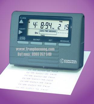 Đồng hồ bấm giây đếm lùi - đếm tiến 3260 Traceable® Time-and-Number Printer [HSX: CONTROL/USA] /hàng có sẳn