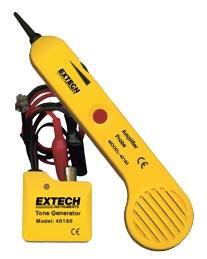 Máy đo cáp quang, thiết bị đo cáp quang 40180: Tone Generator and Amplifier Probe Kit chính hãng Extech USA | Đặt hàng