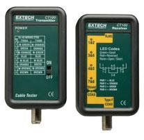 Máy đo cáp quang, thiết bị đo cáp quang  CT100: Network Cable Tester chính hãng Extech USA | Đặt hàng