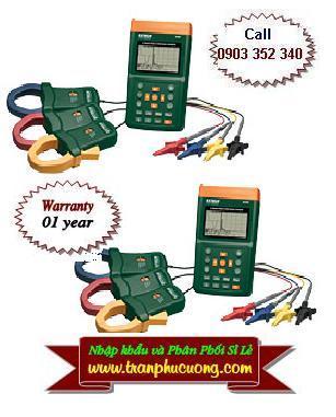 Máy đo và phân tích năng lượng điện 382095 - 1000A 3-Phase Power & Harmonics Analyzer (110V) (HSX: EXTECH-USA)