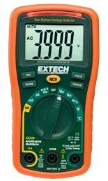 Đổng hồ đo đa năng EX330: 12 Function Mini MultiMeter + Non-Contact Voltage Detector(HSX:EXTECH-USA)