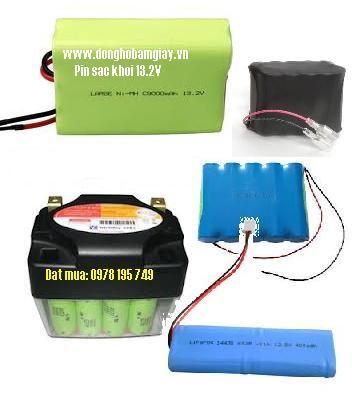 Pin sạc khối 13.2V với các size 1/2AA,2/3AA,AA,AAA,4/5A, 7/5A,SC,C,D với nhiều dung lượng từ 250mAh cho đến 10 000 mAh