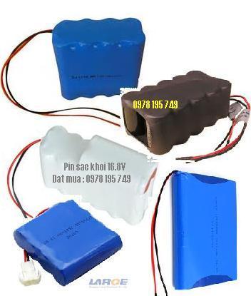 Pin sạc khối 16.8V với các size 1/2AA,2/3AA,AA,AAA,4/5A, 7/5A,SC,C,D với nhiều dung lượng từ 250mAh cho đến 10 000 mAh