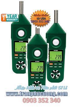 Máy đo âm thanh, máy đo tiếng ồn Extech EN300 Hygro-Thermo-Anemometer-Light-Sound Meter (HSX: EXTECH-USA)/ tạm hết hàng