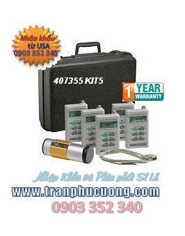 Máy đo âm thanh, Máy đo tiếng ồn, Extech 407355 Noise Dosimeter/Datalogger Kit (HSX: EXTECH-USA)/ đặt hàng trước