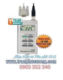 Máy đo âm thanh, máy đo tiếng ồn Extech 407355 Noise Dosimeter/Datalogger with PC Interface (HSX: EXTECH-USA)/ tạm hết hàng