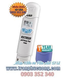 Máy đo pH - Extech PH60 Waterproof pH Pen with Temperature chính hãng Extech USA | hàng có sẳn