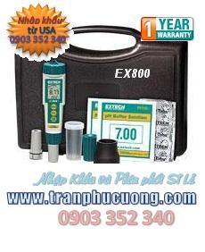 Máy đo pH - Extech EX800 ExStik® 3-in-1 Chlorine, pH, Temperature Kit chính hãng Extech USA | có sẳn hàng