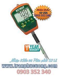 Máy đo pH - Extech pH220S Waterproof Palm pH Meter with Temperature chính hãng Extech USA | có sẳn hàng