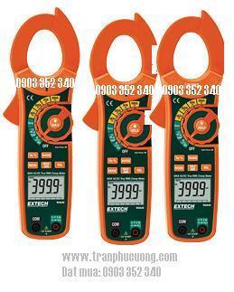 Ampe kìm đo dòng điện AC/DC, MA640-600A True RMS AC/DC Clamp Meter + NCV (HSX: EXTECH-USA)/ hàng có sẳn