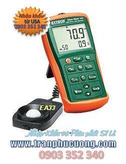 Máy đo ánh sáng Extech EA33 EasyView™ Light Meter with Memory (HSX: EXTECH-USA)/ tạm hết hàng