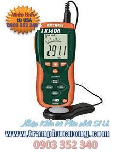 Máy đo ánh sáng extech HD400 Heavy Duty Light Meter (HSX: EXTECH-USA)/ tạm hết hàng