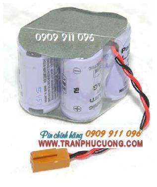 Panasonic BR-2/3AGCT4A lithium 6V nuôi nguồn PLC-CNC chính hãng Made in Japan | hàng có sẳn