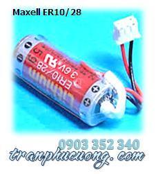 Maxell ER10/28 Lithium 3.6V chính hãng nuôi nguồn PLC-CNC | tạm hết hàng/ sử dụng GX ER10280 thay thế