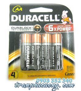 Pin AA Duracell MN1500 Alkaline 1.5V chính hãng   hàng có sẳn