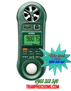 Phong kế đo lưu lượng không khí - Đo gió - Ánh sáng - Nhiệt độ - Độ ẩm Extech 45170CM 5-in-1 Environmental Meter  chính hãng Extech USA | Đặt hàng