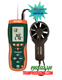 Phong kế đo tốc độ gió Extech HD300  CFM/CMM Thermo-Anemometer with built-in InfaRed Thermometer chính hãng Extech USA | Đặt hàng