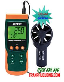 Phong kế đo tốc độ gió có thẻ nhớ ghi dữ liệu Extech SDL310 Thermo-Anemometer/Datalogger chính hãng Extech USA | Đặt hàng