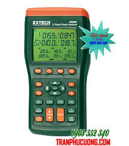 Máy đo điện 3 pha và phân tích sóng hài Extech 382090 - 1000A 3-Phase Power Analyzer/Datalogger (60 Hz) chính hãng Extech USA | Đặt hàng
