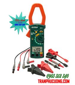 Máy đo điện 3 pha và phân tích sóng hài Extech 380976-K - Single Phase/Three Phase 1000A AC Power Clamp Meter Kit chính hãng Extech USA | Đặt hàng