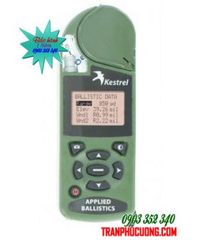 Máy đo vi khí hậu Kestrel 4500NV Applied Ballistics Meter [HSX: Kestrel Meter, Nielsen-Kellerman made in USA] / Đặt hàng