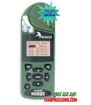 Máy đo vi khí hậu Kestrel 4500NV Horus ATrag Ballistics [HSX: Kestrel Meter, Nielsen-Kellerman made in USA] / Đặt hàng