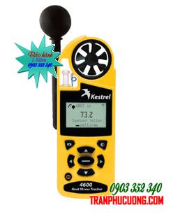Máy đo vi khí hậu Kestrel 4600 Heat Stress Meter [HSX: Kestrel Meter, Nielsen-Kellerman made in USA] | TẠM HẾT HÀNG