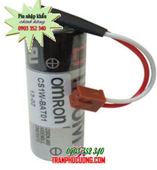 Pin Omron CS1W-BAT01  lithium 3.6V nuôi nguồn PLC-CNC | hàng có sẳn