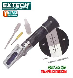 Khúc xạ kế đo độ nhờn (độ nhớt) chất bôi trơn và chất cất - Extech RF12 RF12-Portable Brix Refractometer (0 to 18%) with ATC//hàng có sẳn