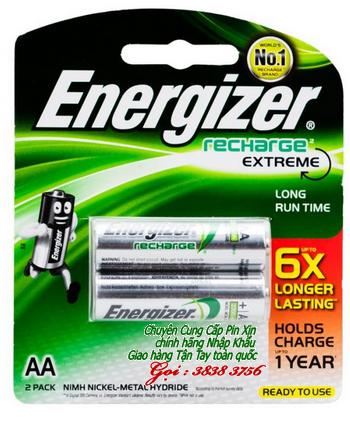 Pin sạc AA Energizer NH15ERP2 - 6X Extreme AA2300mAh 1.2V | hàng có sẳn
