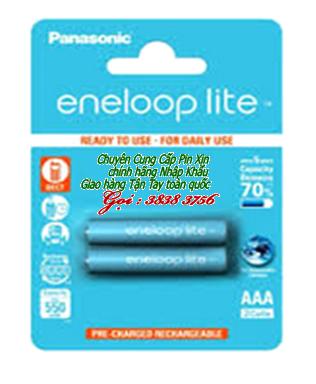 Pin sạc AAA Eneloop Lite BK-4LCCE/2BT-Min550mAh/Max600mAh-1.2V chính hãng sạc được 3000 lần | hàng có sẳn