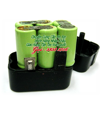 Pin máy khoan cầm tay - Pin máy bắt vít 7,2V-SC2000mAh chính hãng thay cells pin | Hàng có sẳn