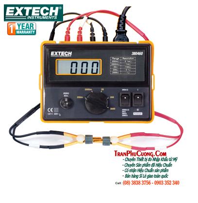 Máy đo điện trở Extech 380462 Precision Milliohm Meter (220V) chính hãng Extech USA | Đặt hàng