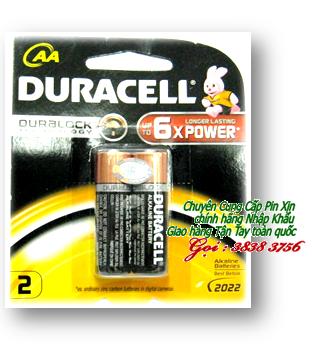 Pin AA Duracell MN1500-LR03 Duralock Alkaline 1,5V chính hãng   còn hàng