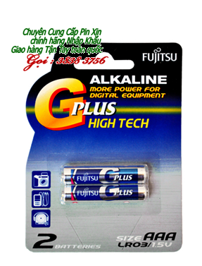 Pin AAA Fujitsu LR03GCNN BP-2 | MN2400 G Plus High Technology Alkaline 1,5V | TẠM HẾT HÀNG