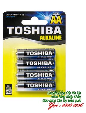 Pin AA Toshiba LR6GCNN BP-4 Alkaline 1,5V chính hãng | còn hàng
