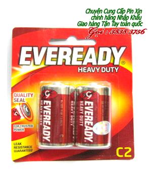 Pin trung C 1,5V  Eveready 1035 BP2 Heavy Duty chính hãng | còn hàng